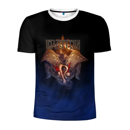 Мужская футболка 3D спортивная Led Zeppelin