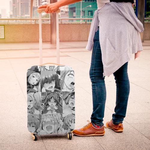 Чехол для чемодана 3D Faces from Hentai Фото 01