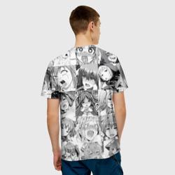 Мужская футболка 3D Faces from Hentai