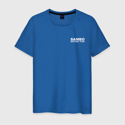 Мужская футболка хлопок Sambo National Team Фото 01