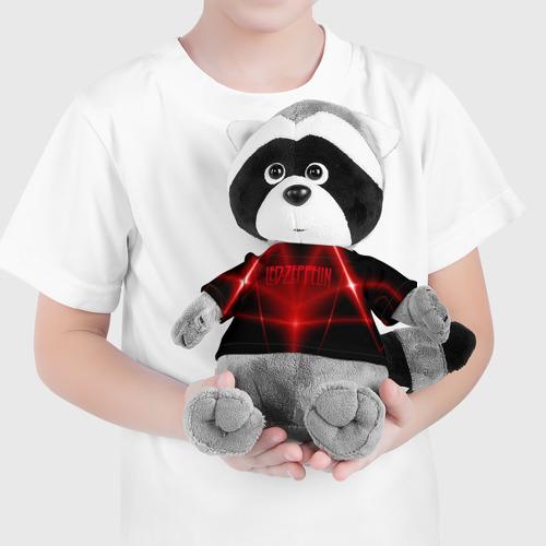 Енотик в футболке 3D  Фото 04, Led Zeppelin