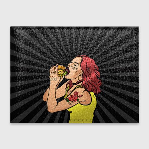 Обложка для студенческого билета  Фото 01, Face Burger