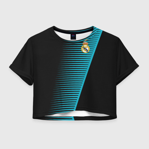 Женская футболка Cropp-top Real Madrid Creative uniform