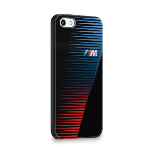 Чехол для Apple iPhone 5/5S 3D  Фото 02, BMW 2018 Brand Colors Lines