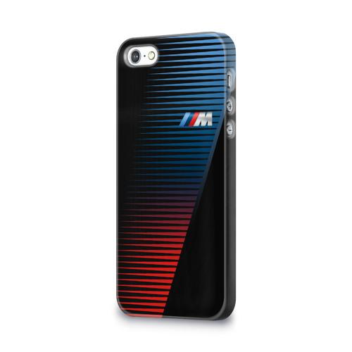 Чехол для Apple iPhone 5/5S 3D  Фото 03, BMW 2018 Brand Colors Lines