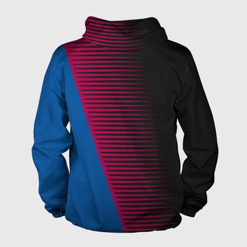 Мужская ветровка 3D  Фото 02, FC Barca 2018 Creative uniform