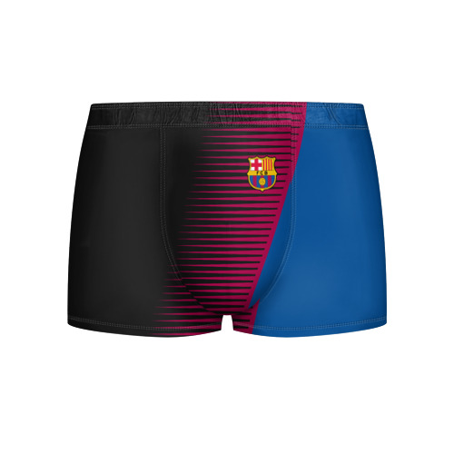 Мужские трусы 3D  Фото 01, FC Barca 2018 Creative uniform