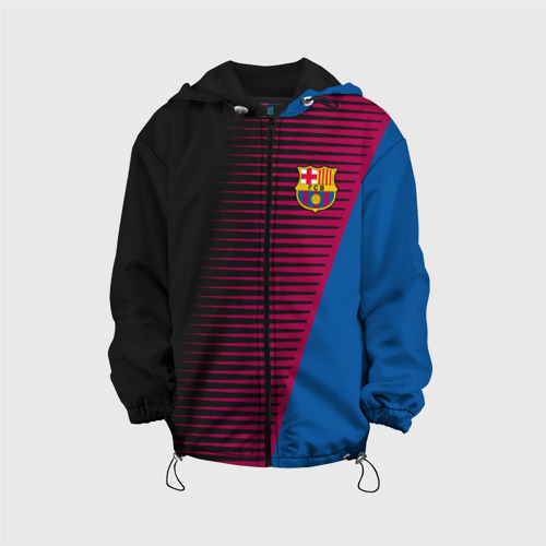 Детская куртка 3D FC Barca 2018 Creative uniform