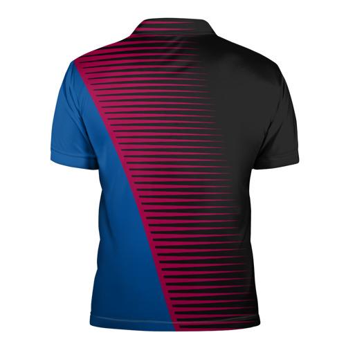 Мужская рубашка поло 3D  Фото 02, FC Barca 2018 Creative uniform