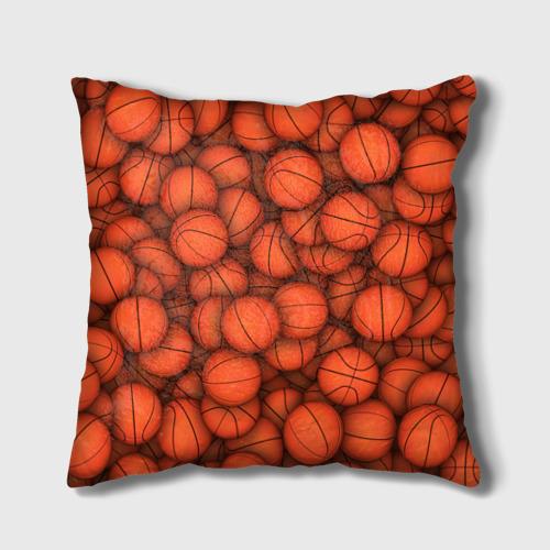 Подушка 3D  Фото 01, Баскетбольные мячи