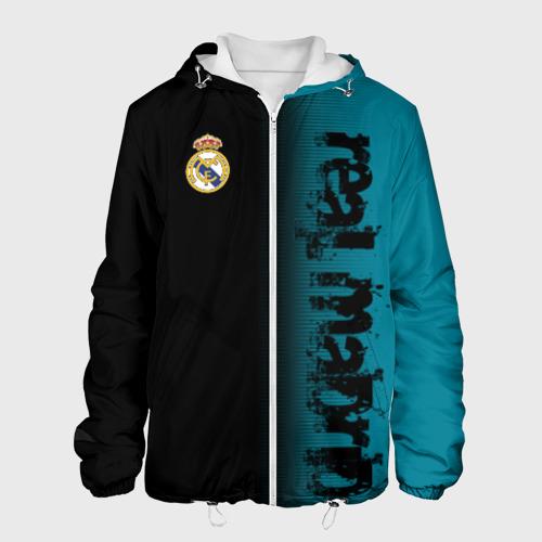 Мужская куртка 3D  Фото 01, Real Madrid 2018 Original