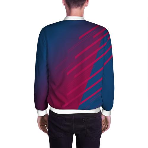 Мужской бомбер 3D  Фото 04, FC Barca 2018 Creative uniform
