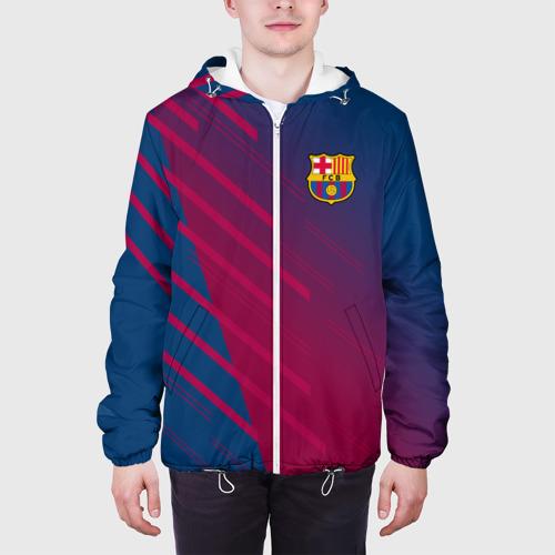 Мужская куртка 3D  Фото 04, FC Barca 2018 Creative uniform