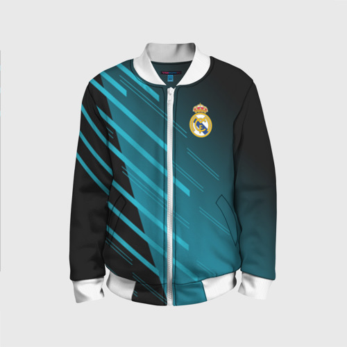 Детский бомбер 3D Real Madrid Creative uniform