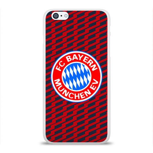 Чехол для Apple iPhone 6Plus/6SPlus силиконовый глянцевый  Фото 01, FC Bayern 2018 Creative