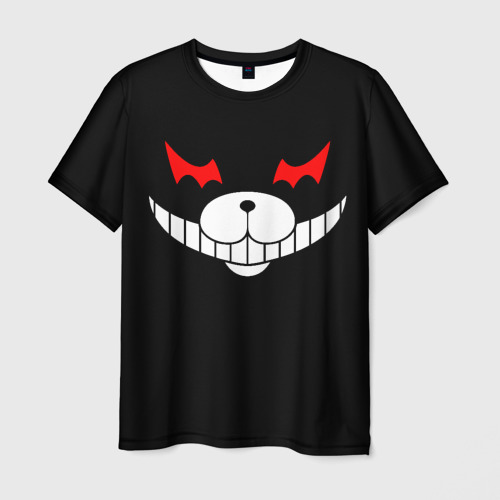 Мужская футболка 3D Monokuma Black