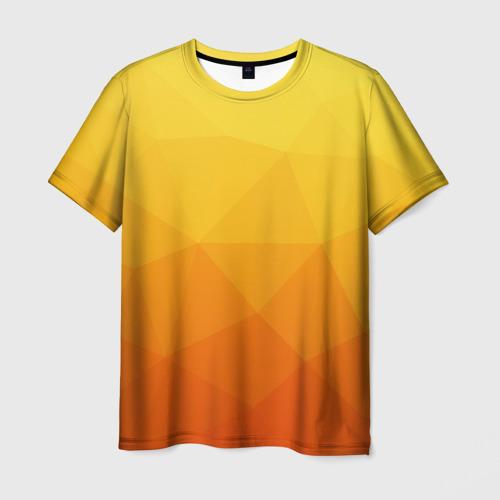 Мужская футболка 3D  Фото 01, Полигон