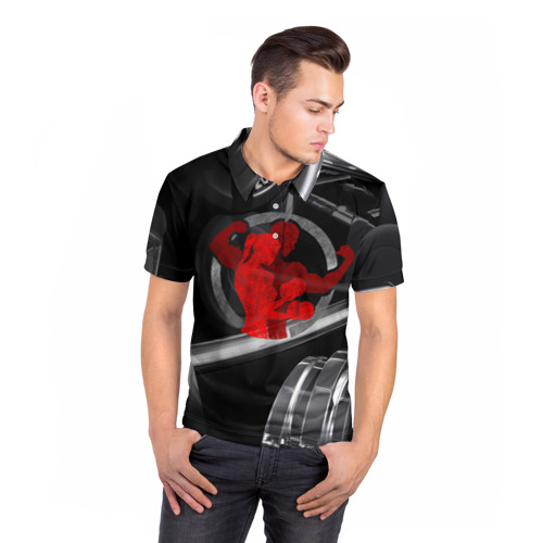 Мужская рубашка поло 3D  Фото 05, Мотивация