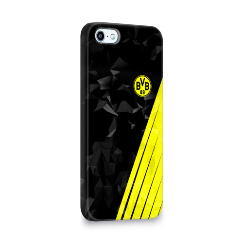 Чехол для Apple iPhone 5/5S 3D  Фото 02, FC Borussia 2018 Abstract