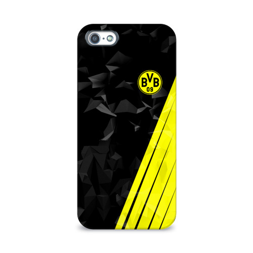 Чехол для Apple iPhone 5/5S 3D  Фото 01, FC Borussia 2018 Abstract