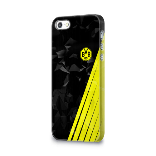Чехол для Apple iPhone 5/5S 3D  Фото 03, FC Borussia 2018 Abstract