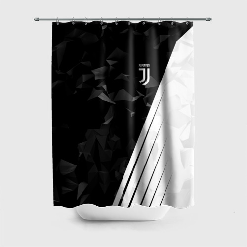 Штора 3D для ванной Juventus 2018 Abstract