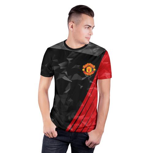 Мужская футболка 3D спортивная F.C.M.U 2018 Abstract uniform Фото 01