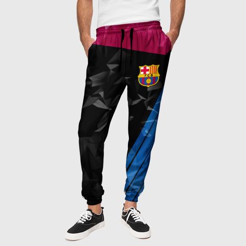 Мужские брюки 3D  Фото 01, FC Barca 2018 Creative uniform
