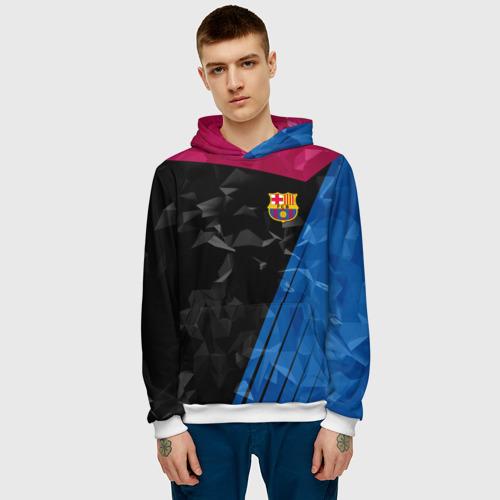 Мужская толстовка 3D  Фото 03, FC Barca 2018 Creative uniform