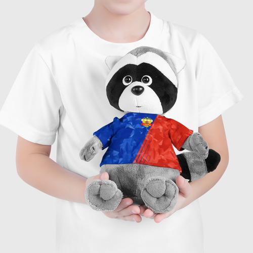 Енотик в футболке 3D RUSSIA - Tricolor Collection  Фото 01