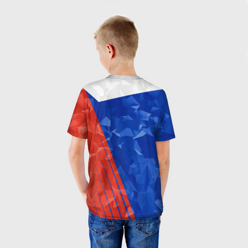 Детская футболка 3D  Фото 02, RUSSIA - Tricolor Collection