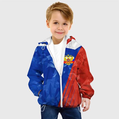 Детская куртка 3D RUSSIA - Tricolor Collection  Фото 01
