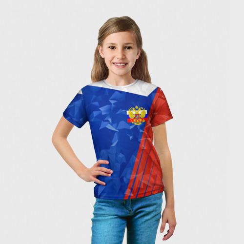 Детская футболка 3D  Фото 03, RUSSIA - Tricolor Collection