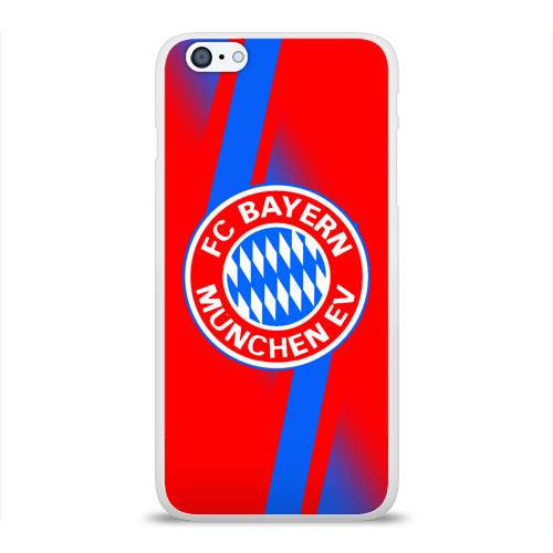 Чехол для Apple iPhone 6Plus/6SPlus силиконовый глянцевый  Фото 01, FC Bayern 2018 Storm