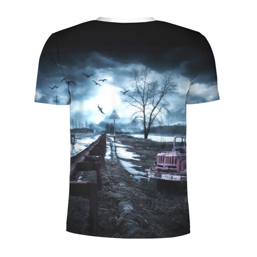 Мужская футболка 3D спортивная  Фото 02, S.T.A.L.K.E.R. - И.Л.Ь.Я
