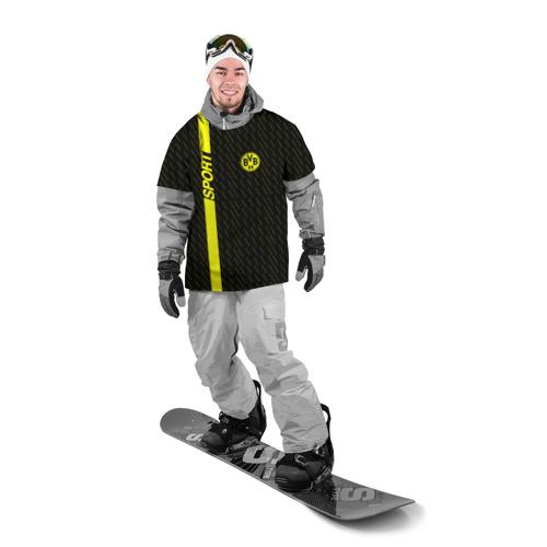Накидка на куртку 3D  Фото 03, FC Borussia 2018 Sport