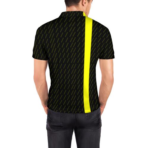 Мужская рубашка поло 3D  Фото 04, FC Borussia 2018 Sport