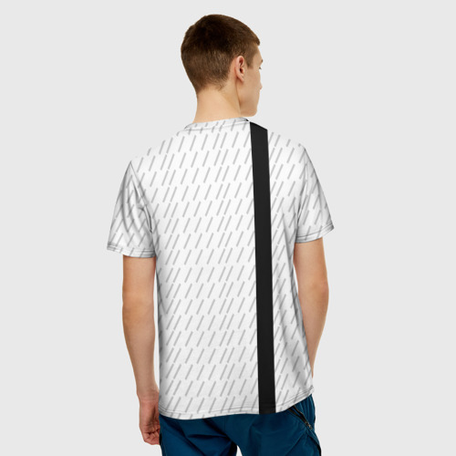 Мужская футболка 3D  Фото 02, BMW 2018 White Sport