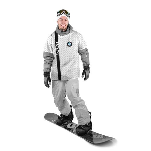 Накидка на куртку 3D  Фото 03, BMW 2018 White Sport