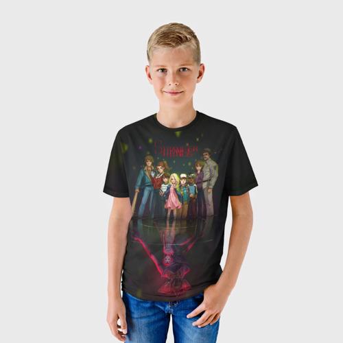 Детская футболка 3D  Фото 01, Stranger Things 2