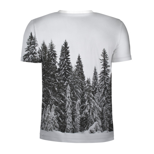 Мужская футболка 3D спортивная  Фото 02, Медведь
