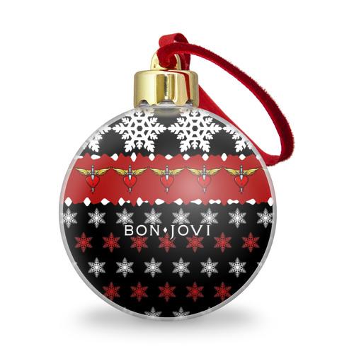 Ёлочный шар с блестками  Фото 01, Праздничный Bon Jovi