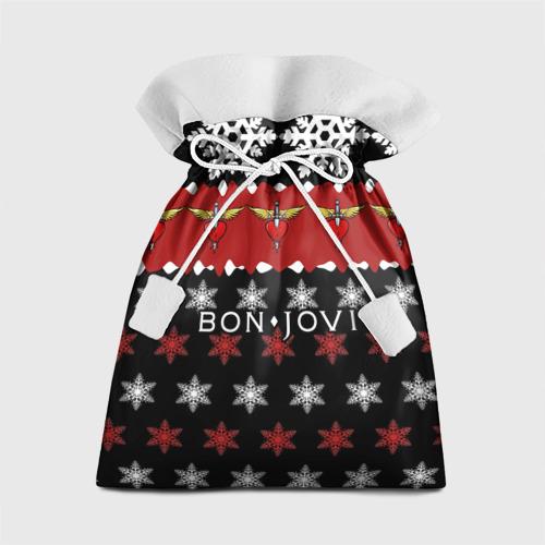 Подарочный 3D мешок Праздничный Bon Jovi Фото 01