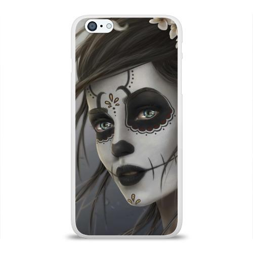 Чехол для Apple iPhone 6Plus/6SPlus силиконовый глянцевый  Фото 01, Skull