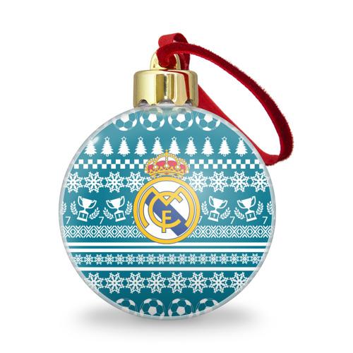 Ёлочный шар с блестками  Фото 01, Ronaldo 7 Новогодний