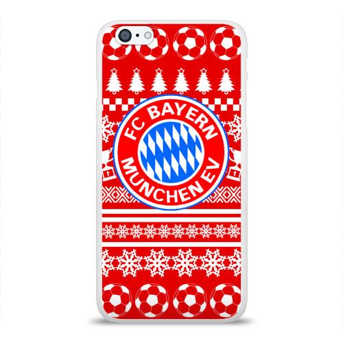 Чехол для Apple iPhone 6Plus/6SPlus силиконовый глянцевый  Фото 01, БАВАРИЯ Праздничный