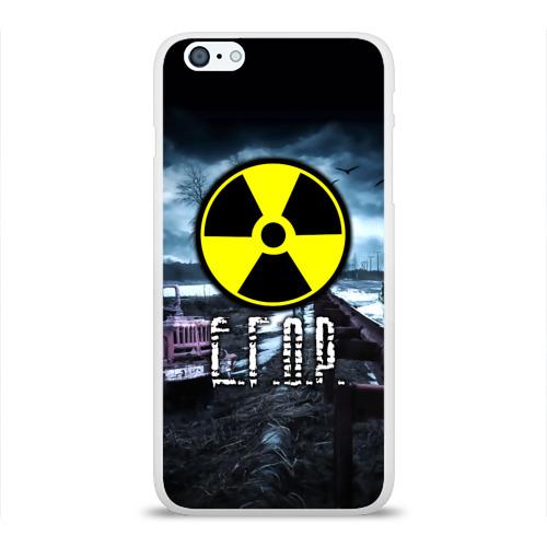 Чехол для Apple iPhone 6Plus/6SPlus силиконовый глянцевый  Фото 01, S.T.A.L.K.E.R. - Е.Г.О.Р.