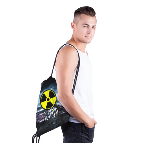 Рюкзак-мешок 3D S.T.A.L.K.E.R. - Е.Г.О.Р. Фото 01
