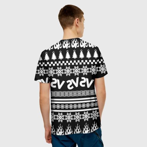 Мужская футболка 3D Свитер Versus Фото 01