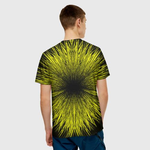 Мужская футболка 3D  Фото 02, FC Borussia 2018 Abstract